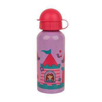Classic Stainless Steel Kids Water Bottle - Princess Castle