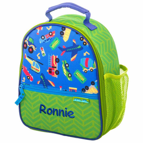Personalized Cars, Trucks, Planes, & Trains Trendsetter Lunch Box