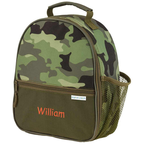 Personalized Camouflage Trendsetter Lunch Box