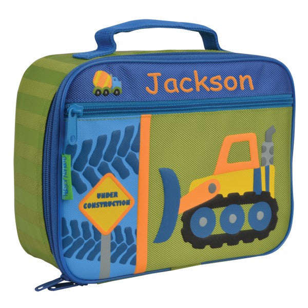 Personalized Classic Construction Truck Lunch Box