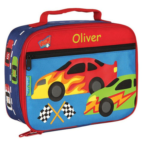 Personalized Classic Flashy Racing Cars Lunch Box