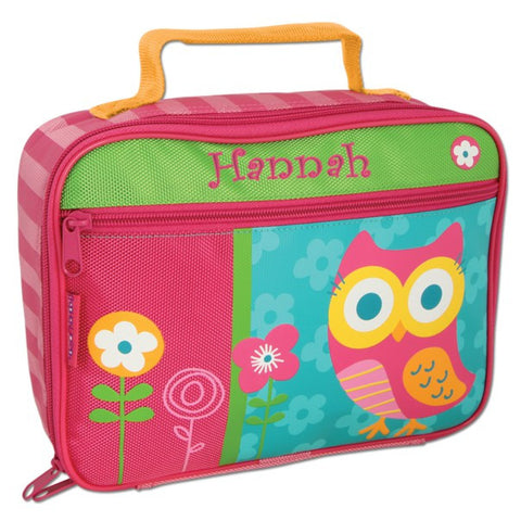 46084c155bfd Personalized Classic Owl Lunch Box