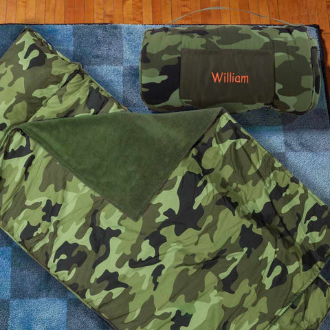 Personalized Toddler & Preschool Nap Mats - Camouflage