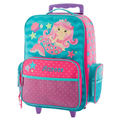 Personalized Mermaid Rolling Luggage