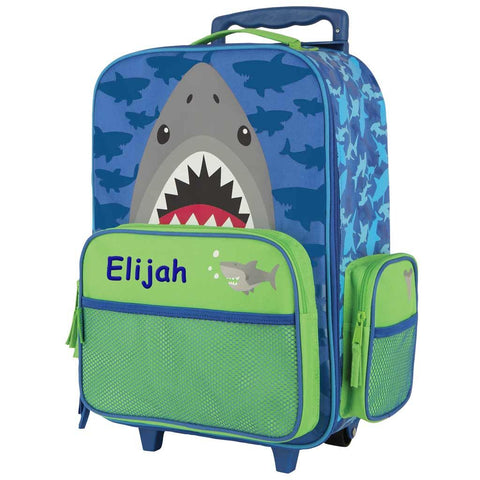 Personalized Shark Rolling Luggage