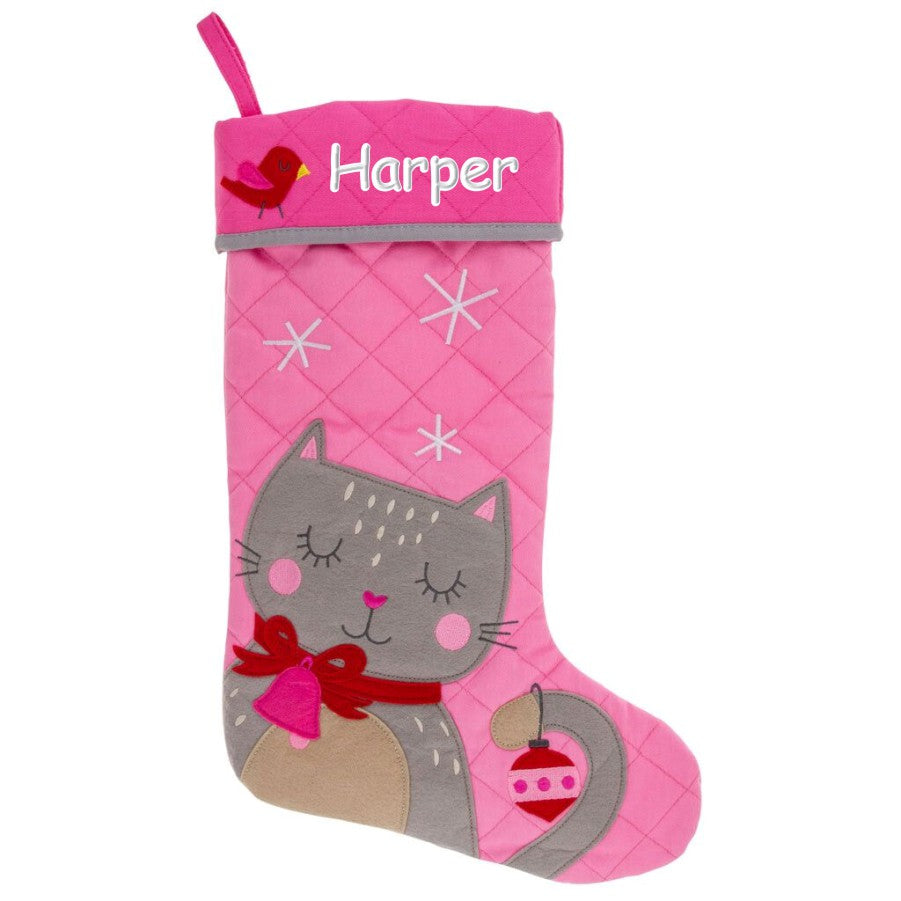 Personalized Quilted Christmas Stocking | Dibsies ...