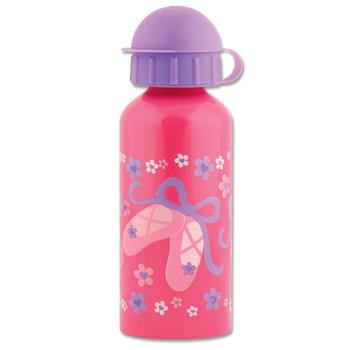 Classic Stainless Steel Kids Water Bottle - Pink Ballet Shoes