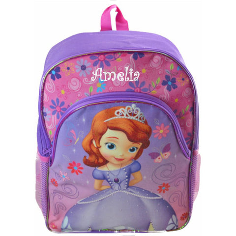 Personalized Disney's Sofia The First Character Backpack - 16 Inch