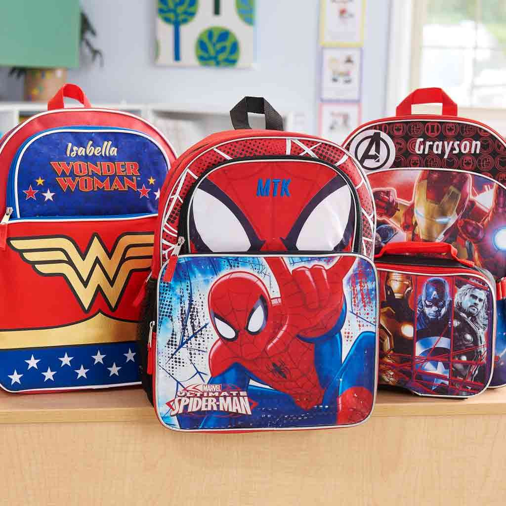 ac2195a74eaf ... Personalized Wonder Woman Character Backpack - 16 Inch ...