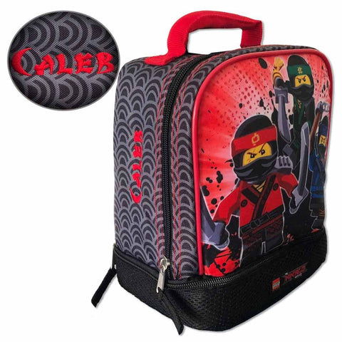 Personalized Ninjago Lunch Box - Double Compartment