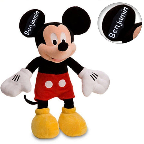 Personalized Disney's Mickey Mouse Plush Doll - 15.5 Inch