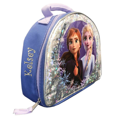 Personalized Frozen 2 Lunch Box - Sparkle & Ice