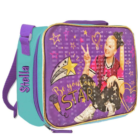 Personalized JoJo Siwa Lunch Bag (Purple - Be Your Own Star)