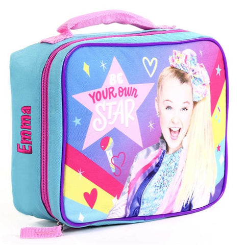 Personalized JoJo Siwa Lunch Bag (Light Blue - Be Your Own Star)