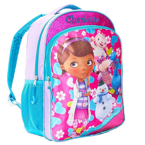 Personalized Doc McStuffins Character Backpack - 16 Inch