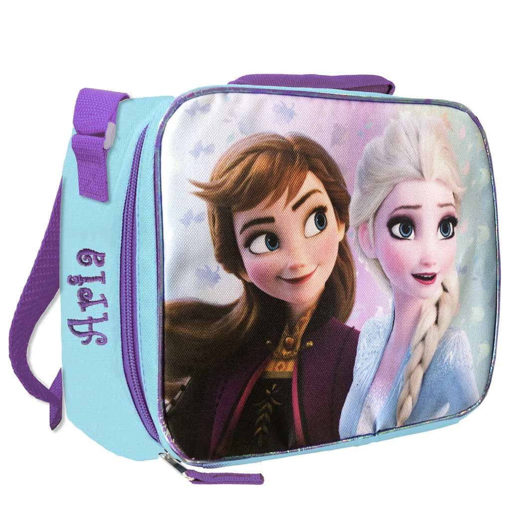 Personalized Frozen 2 Lunch Box - Elsa & Anna