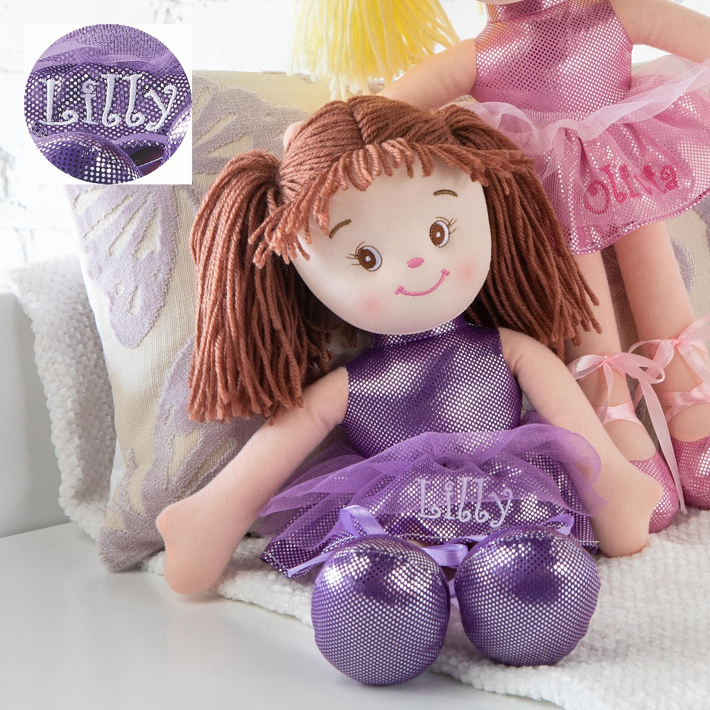Personalized Dibsies Little Dancer Doll - 15 Inch