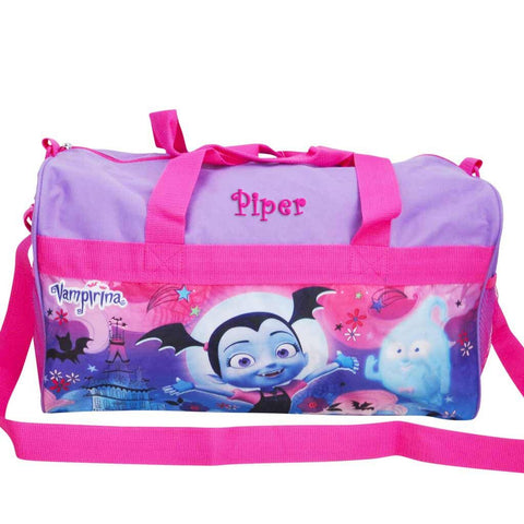 Personalized Vampirina Kids Travel Duffel Bag - 18