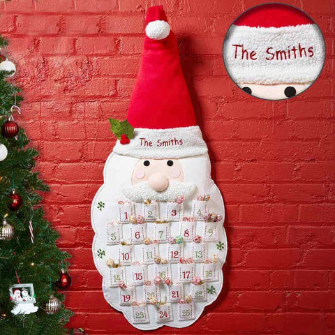 Personalized Santa Advent Calendar