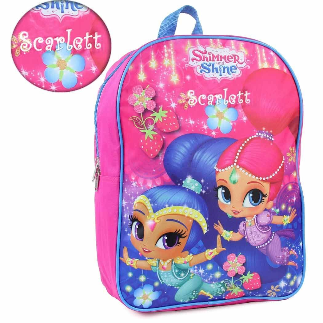 Personalized Shimmer & Shine Backpack - 15 Inch