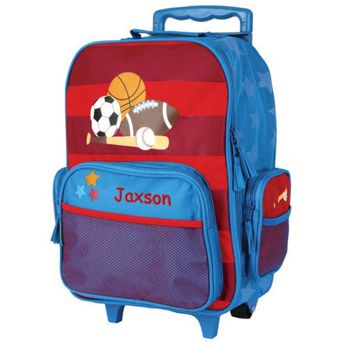 Personalized Sports Rolling Luggage