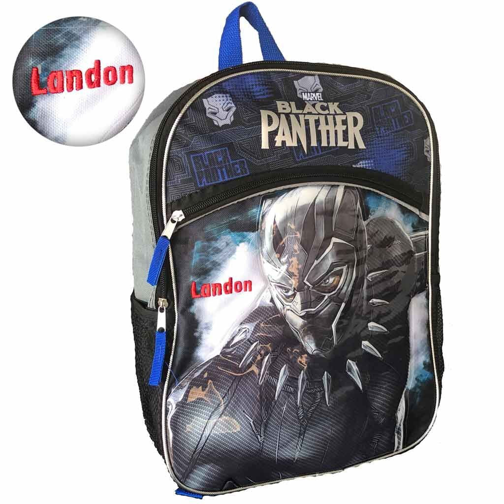 Personalized Marvel Black Panther Backpack - 16 Inch