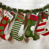 Personalized Whimsical Jester Stocking