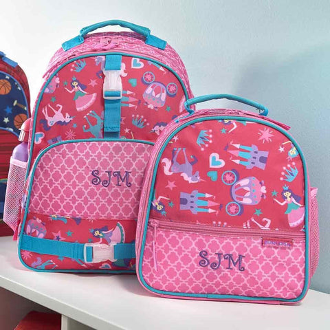 Personalized Princess Trendsetter Backpack & Lunch Box Combo