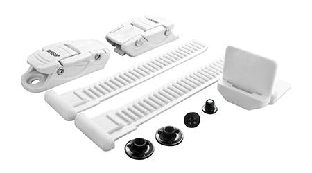Bont Slim-Line Buckle Kit (white)