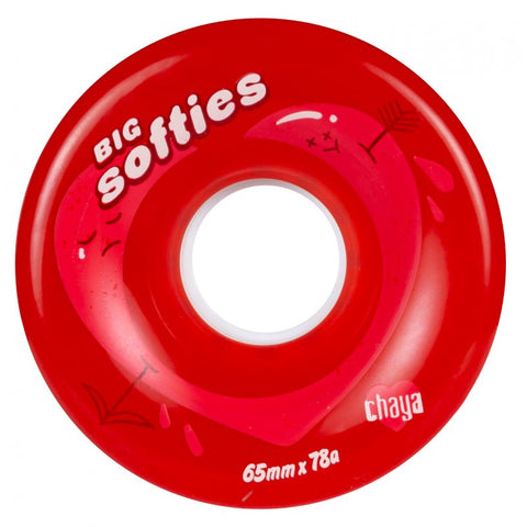 Chaya - Big Softie's Outdoor Quad Wheels (4-pack)