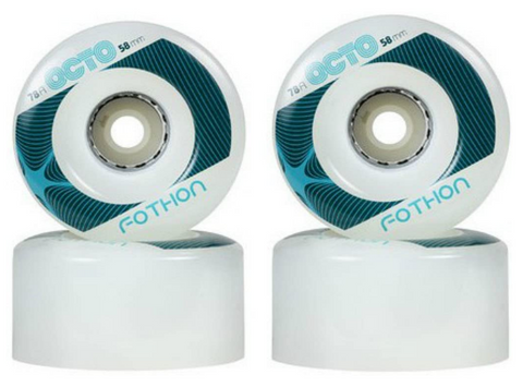 Octo LED Fothon Outdoor (Light Up) Wheels - 4 pack
