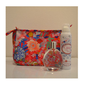 OILILY BLUE SPARKLE SET EDT 100ML + DEO + BAG