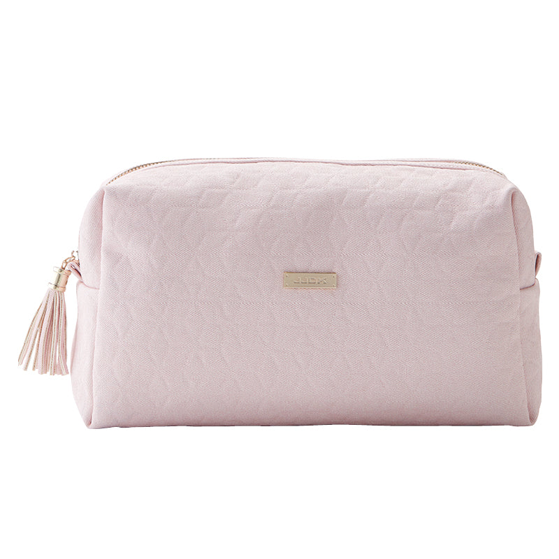 JJDK CALI LARGE COSMETIC BAG ROSE