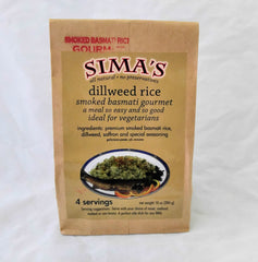 SIMA'S SMOKED BASMATI RICE WITH DILLWEED 10 oz