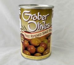 GRABER OLIVES #12 Small 7.5 oz