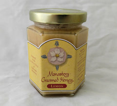 MONASTERY CREAMED HONEY Lemon 8 oz