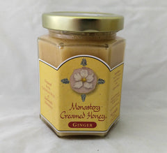 MONASTERY CREAMED HONEY Ginger 8 oz
