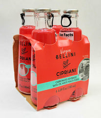 Cipriani Bellini Peach Mix Soda 4 x 180 ml