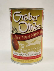 GRABER OLIVES  Orchard Run 7.5 oz