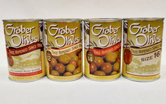 GRABER OLIVES  Mixed Case 12 x 7.5 oz