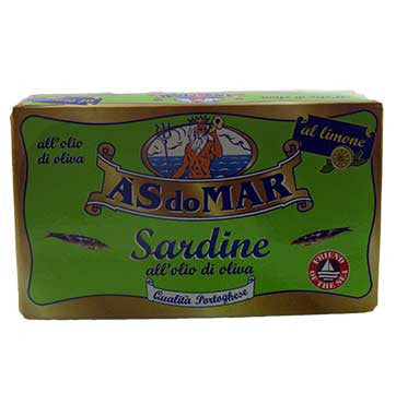ASdoMAR Sardines with Lemon in Olive Oil