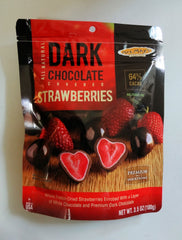 Mrs. Mays Dark Chocolate Covered Strawberries 3.5 oz