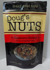 Doug's Nuts Habanero Honey 4oz