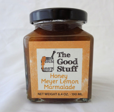 The Good Stuff Honey Meyer Lemon Marmalade  6.4 oz
