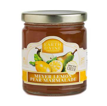 Earth & Vine Meyer Lemon Pear Marmalade