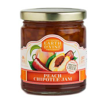 Earth & Vine Peach Chipotle Jam