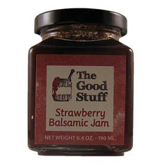 The Good Stuff Strawberry Balsamic Jam