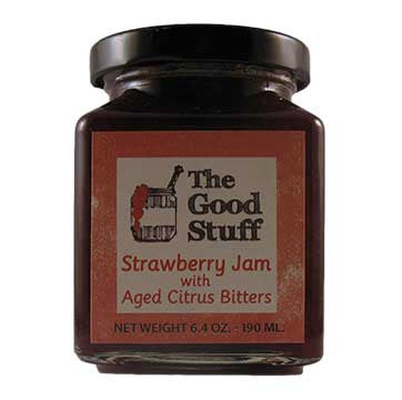 The Good Stuff Strawberry Jam with Aged Citrus Bitters