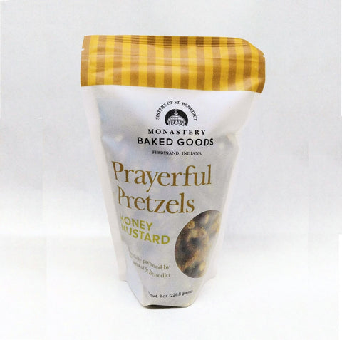PRAYERFUL HONEY MUSTARD PRETZELS 8 oz