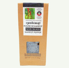 Kampot Black Peppercorns 50g